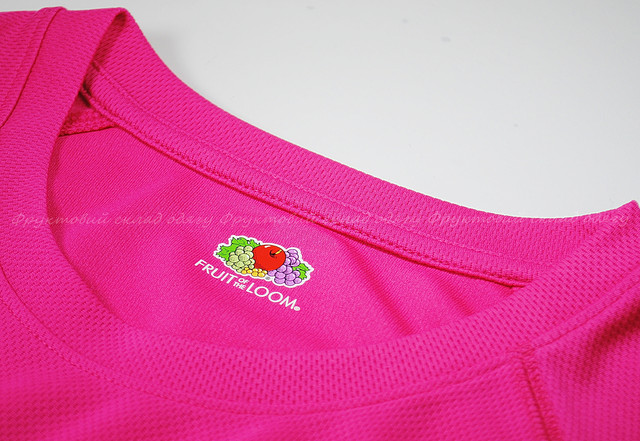 Детская спортивная футболка Малиновая