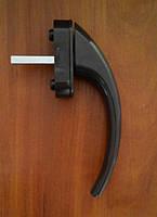 Ручка оконная Ege Acoustic, коричневая.