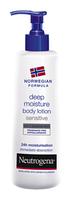 Молочко для тела Neutrogena Норвежская формула Глубокое увлажнение для чувствительной кожи 250 мл