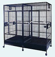 Вольер для средних и крупных попугаев 200х100х190 см