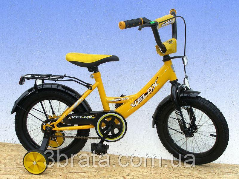 Велосипед 2-х кол. Velox 1401 (желтый) - Интернет-магазин «3brata» в Киеве