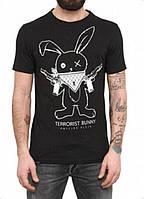 Футболка с принтом Terrorist Bunny
