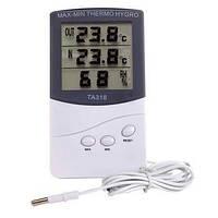 Цифровой гигрометр, термометр Indoor\Outdoor TA318