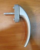 Ручка оконная Ege Acoustic, серебро.