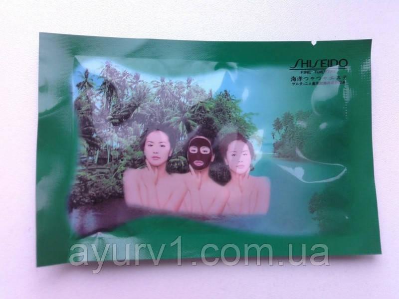 Черная маска-пленка от черных точек Shiseido / Тайланд