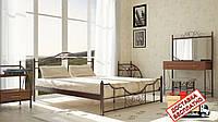 Кровать металлическая кованная Кармен двуспальная, фото 1