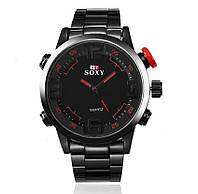 Мужские наручные часы SOXY Черный