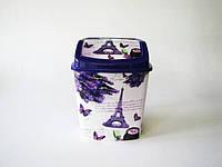 Ведро мусорное   Элиф  с рисунком№ 341 (20шт)