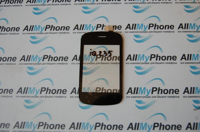 Сенсорный экран для Fly IQ235 Black