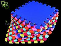 Коврик-пазл ЛЮКС 10мм/30х30см (уп. 16 шт. 113х113 см), фото 1