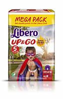 Трусики Libero Up&Go Maxi Plus 5 (10-14 кг) 62шт.