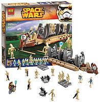 """Конструктор Bela Space Wars 10374 """"Десантный самолет Боевых Дроидов"""" 565 деталей (аналог Lego Star Wars)"""