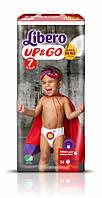 Трусики Libero Up&Go 7, 16-26кг, 34шт