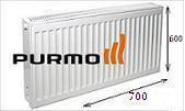 Радиатор PURMO Compact тип22 размер 600x700