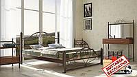 Кровать металлическая кованная Джоконда двуспальная, фото 1