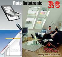 Мансардные окна ROTO Designo R6 RotoTronic, фото 1