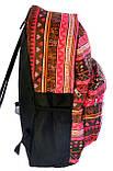 Рюкзак с карманом Шахматка 0608-B, фото 3