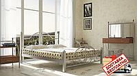 Кровать металлическая кованная Жозефина полуторная, фото 1