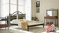 Кровать металлическая кованная Жозефина двуспальная, фото 1