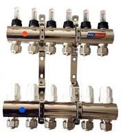 Коллектор с расходомерами POL-therm POL02G (2 отвода)