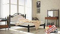 Кровать металлическая кованная Эсмеральда двуспальная, фото 1