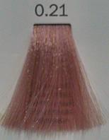 0.21 Фиолетово-Пепельный, Крем краска для волос безаммиачная, Toner-Lux