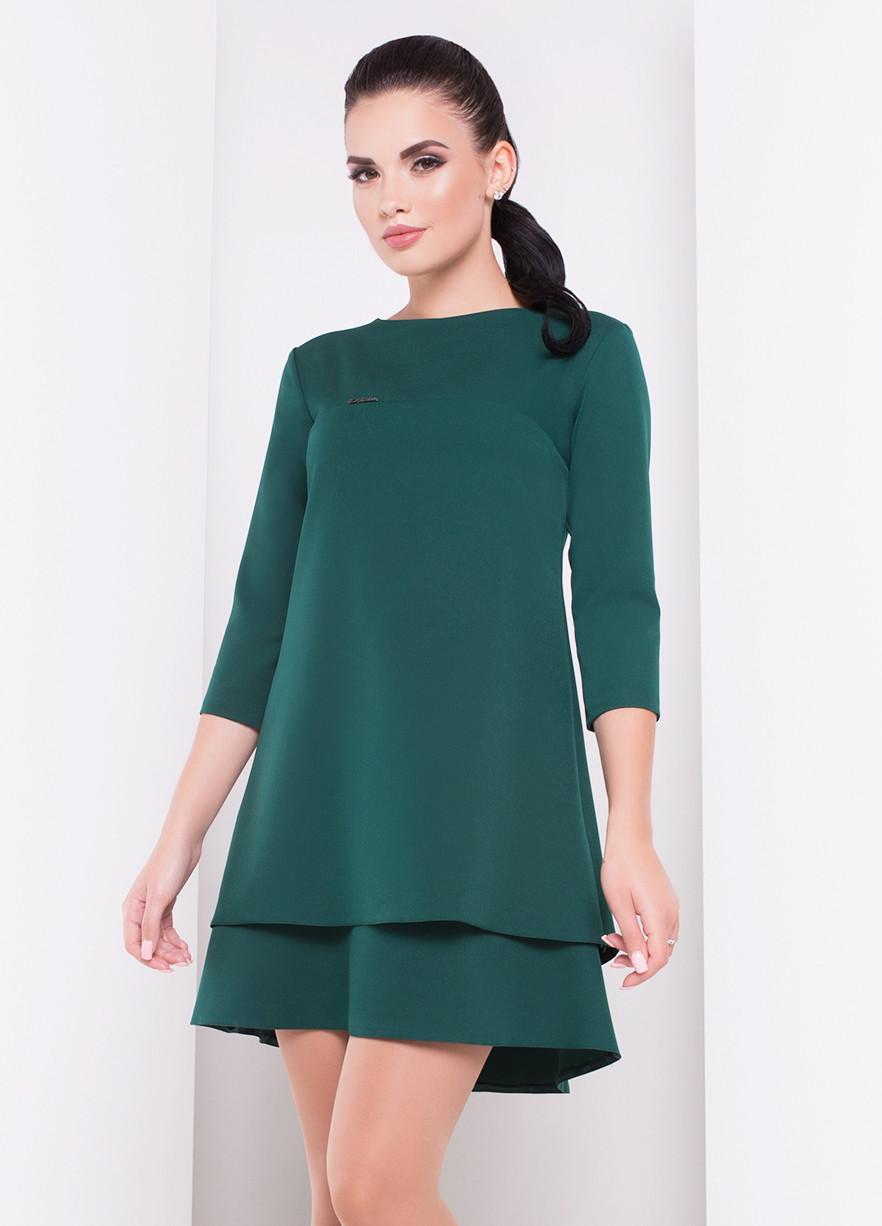темно зеленое платье фото