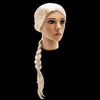 Парик Снегурочки 75см (блонд)