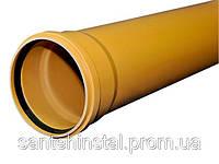 Труба ПВХ SN8 110х3,2х1000 Wavin