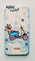 Чехол на Айфон 6/6s Vodex стильный Пластик Скутер