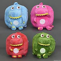 "Рюкзак мягкий ""Динозаврик"" 772-343, 4 цвета, 1 отделение на молнии"