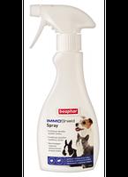 Beaphar IMMO Shield - инновационный противопаразитарный спрей с силиконовым маслом (11112)