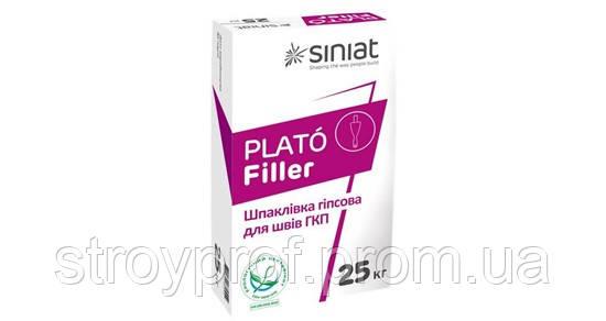 Шпаклевка гипсовая Plato Filler 25кг.