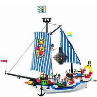 Детский конструктор Brick Пиратский корабль