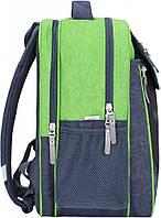 Рюкзак школьный Bagland Отличник 20 л. 321 сірий 21 д (0058070)
