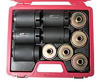 Набор съемников сайлентблоков гидравлический привод 62-80mm шаг 2мм JTC 4831