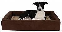 Лежак Trixie Memory Bed плюш и полиэстер, с ортопедическим эффектом, 100х80 см, фото 1