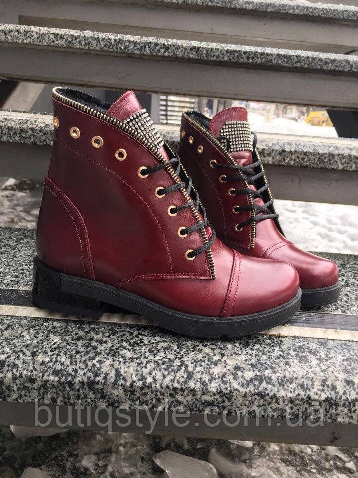 39 размер! Зимние женские ботинки в стиле Bai)ain