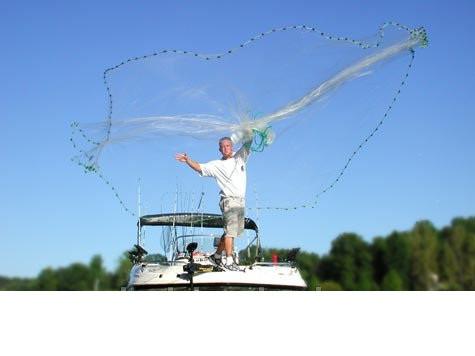 Рыболовная сеть Парашют, производство Япония, кастинговая сетка ...
