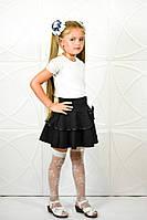 Стильная юбка в школу