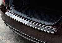 Honda Accord 9 накладка защитная на задний бампер тип D
