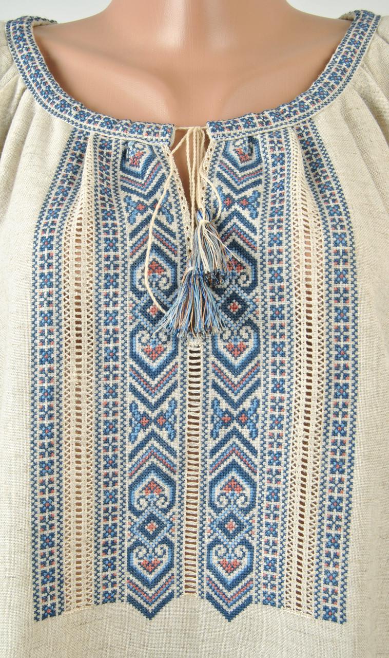 Жіноча вишиванка ручної роботи на льоні   продажа 41664e0c4d156