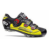 Велотуфли МТБ Sidi Eagle 7 Black/Yellow/Black 46.5