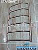 Полотенцесушитель узкий для ванной комнаты Standart 6 ширина 400 мм., фото 3