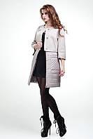 Комбинированное демисезонное пальто 2 в 1Микс