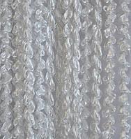 Нитяные шторы спиральки Белые