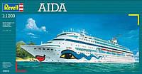 Круизное судно (1996г., Финляндия) AIDA, 1:1200, Revell