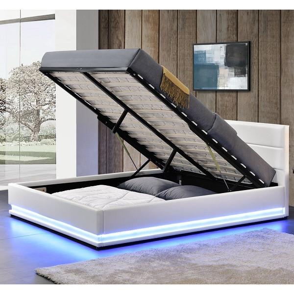 Кровать с подьемным механизмом TOU 180х200 см. с LED подсветкой, фото 1