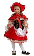 Прокат карнавального костюма Красная Шапочка в цветах