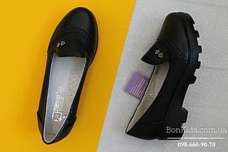 Черные туфли девочка на рельефной подошве Том.м р. 35, фото 2